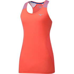Mizuno Aero Tank Women Hot Coral